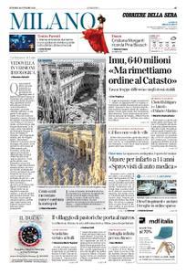 Corriere della Sera Milano – 26 ottobre 2018