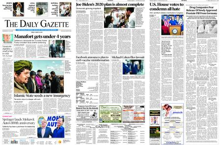 The Daily Gazette – March 08, 2019