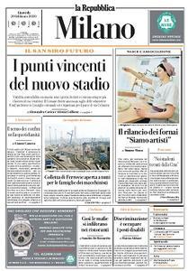 la Repubblica Milano - 20 Febbraio 2020