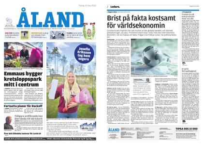 Ålandstidningen – 19 maj 2020