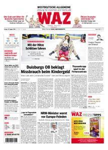 WAZ Westdeutsche Allgemeine Zeitung Oberhausen-Sterkrade - 10. August 2018
