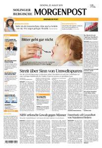 Solinger Morgenpost – 20. August 2019