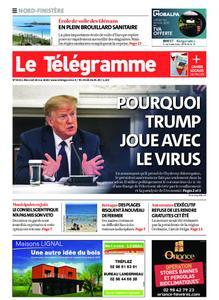 Le Télégramme Brest Abers Iroise – 20 mai 2020
