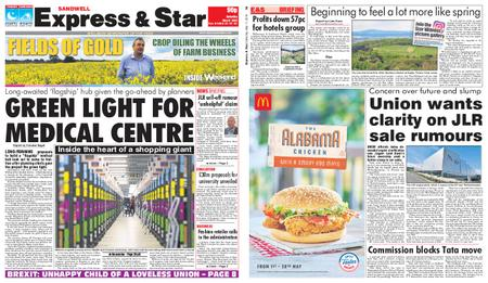 Express and Star Sandwell Edition – May 11, 2019