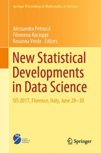 New Statistical Developments in Data Science