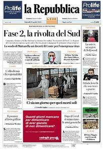 la Repubblica - 30 Aprile 2020