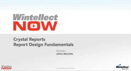 Crystal Reports: Reports Design Fundamentals