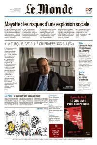 Le Monde du Mardi 13 Mars 2018