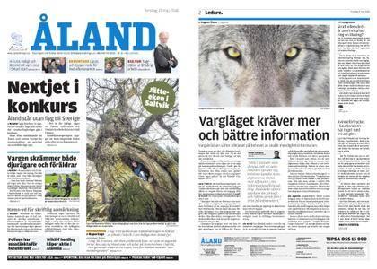 Ålandstidningen – 17 maj 2018
