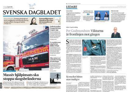 Svenska Dagbladet – 24 juli 2018