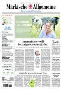 Märkische Allgemeine Luckenwalder Rundschau - 13. August 2018