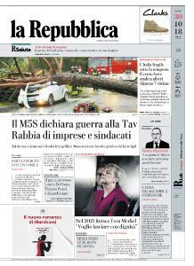 la Repubblica - 30 Ottobre 2018
