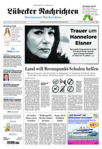 Lübecker Nachrichten Stormarn - 24. April 2019