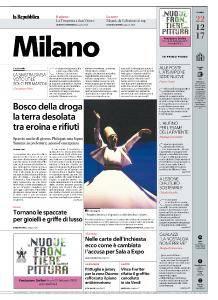 la Repubblica Milano - 22 Dicembre 2017