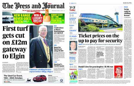 The Press and Journal Moray – October 11, 2017