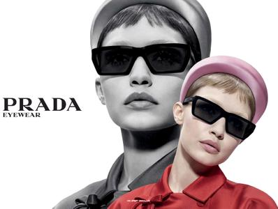 Anok Yai, Freja Beha Erichsen, Gigi Hadid, Liu Wen & Maike Inga by Willy Vanderperre for Prada Spring/Summer 2019