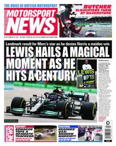 Motorsport News - September 30, 2021
