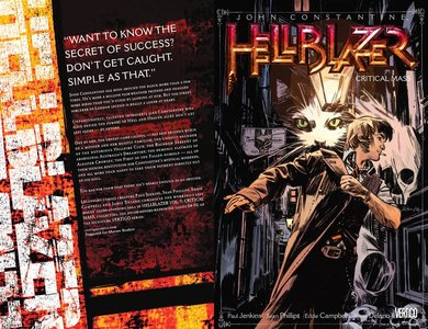 John Constantine, Hellblazer v09 - Critical Mass (2014)