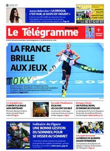 Le Télégramme Brest Abers Iroise – 29 août 2021