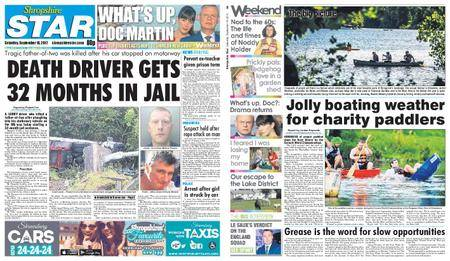 Shropshire Star Shrewsbury Edition – September 16, 2017