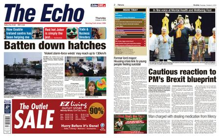 Evening Echo – October 03, 2019