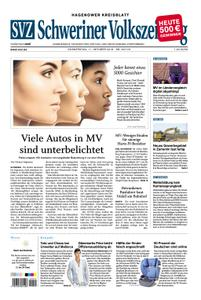Schweriner Volkszeitung Hagenower Kreisblatt - 11. Oktober 2018