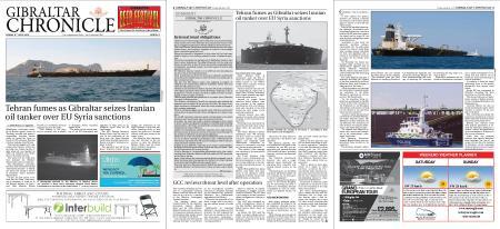 Gibraltar Chronicle – 05 July 2019