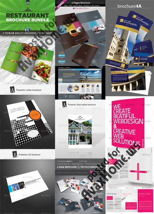 GraphicRiver Brochure Templates Pack 3