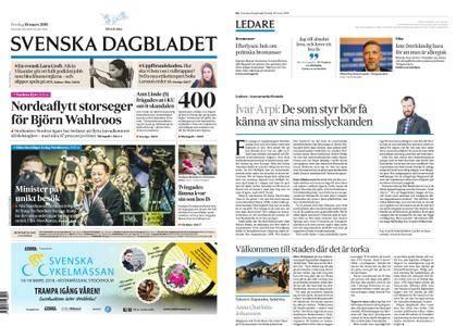 Svenska Dagbladet – 16 mars 2018