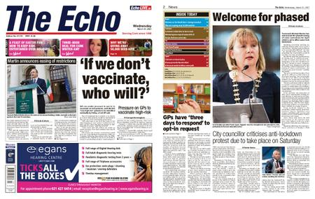 Evening Echo – March 31, 2021