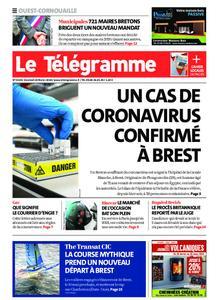 Le Télégramme Ouest Cornouaille – 28 février 2020