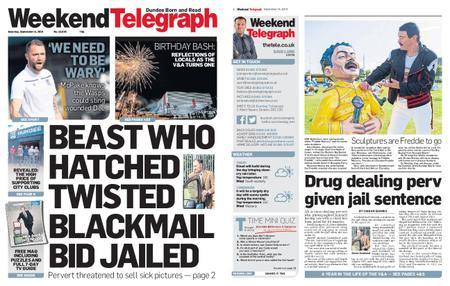 Evening Telegraph First Edition – September 14, 2019