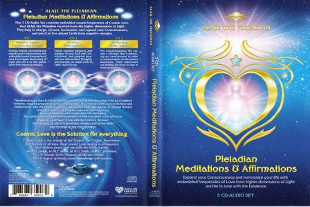Alaje The Pleiadian - Pleiadian Meditations And Affirmations (3CD Box Set, 2012)