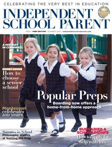 Independent School Parent – May 2019