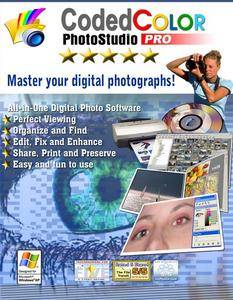 CodedColor PhotoStudio Pro 7.5.5.1 + Clipart Content