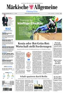 Märkische Allgemeine Fläming Echo - 16. September 2019