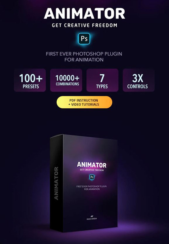 Animator - Photoshop Plugin for Animated Effects (GraphicRiver)