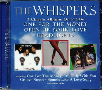 The Whispers - One For The Money (1976) / Open Up Your Love (1977) / Headlights (1978) [2CD] [2018, Remastered]