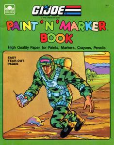 G I Joe - Paint 'n' Marker Book (1989) (AnEvilScan