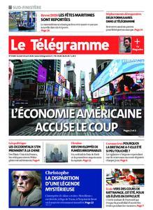 Le Télégramme Ouest Cornouaille – 18 avril 2020