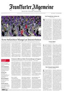 Frankfurter Allgemeine Zeitung - 26 März 2020