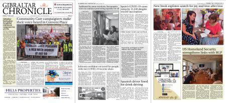 Gibraltar Chronicle – 02 July 2021
