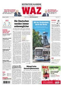 WAZ Westdeutsche Allgemeine Zeitung Oberhausen-Sterkrade - 31. Juli 2018