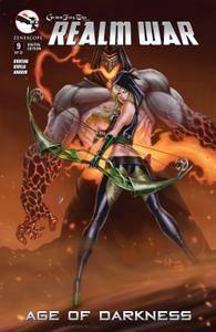 Grimm Fairy Tales Presents Realm War 0092015 2 covers Digi-Hybrid