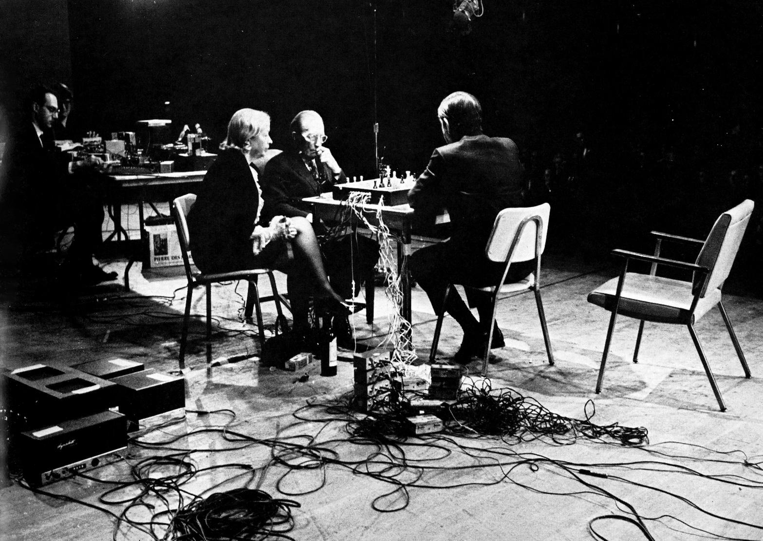 John Cage & Marcel Duchamp - Reunion (1968) {LP Takeyoshi Miyazawa} (Released on VINYL but not CD)