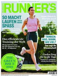Runner's World Deutschland – Juli 2019