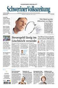 Schweriner Volkszeitung Hagenower Kreisblatt - 25. Mai 2018