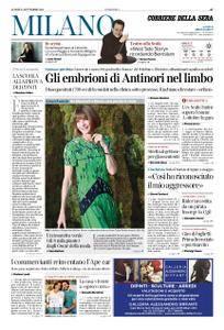 Corriere della Sera Milano – 24 settembre 2018