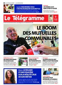 Le Télégramme Guingamp – 08 décembre 2019