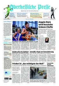 Oberhessische Presse Marburg/Ostkreis - 20. November 2017
